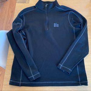 Men's Nike golf therma-fit quarter zip pullover